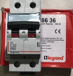 Double Pole Legrand AC MCB