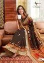 Linen Printed Saree
