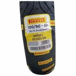 100/90 10 56 J TL Pirelli Angel Scooter Tyre