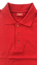 Men's Plain Corporate Collar T-Shirt