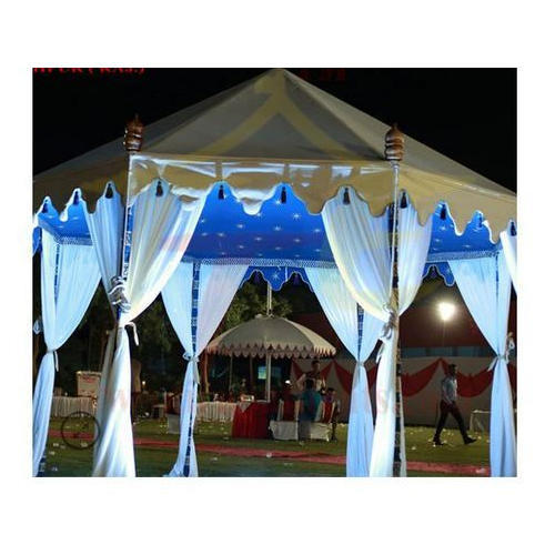 Canvas And Cotton Outdoor Wedding Tent Size 10x10 To100x100 Feet  sc 1 st  IndiaMART & Canvas And Cotton Outdoor Wedding Tent Size: 10x10 To100x100 Feet ...