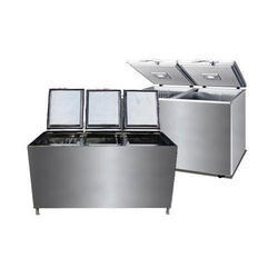 Stainless Steel Horizontal Deep Freezer