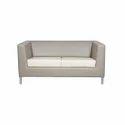 Plain Leatherette Sofa