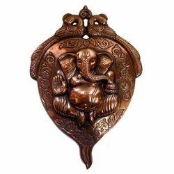 Copper Patta Ganesha