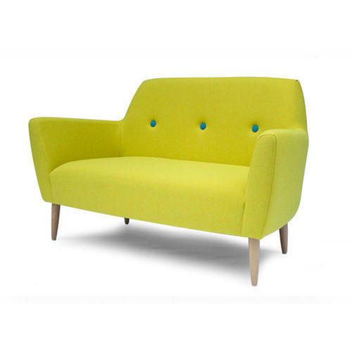 Single Seater Green Sofa