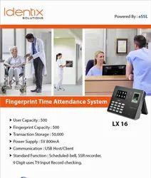 eSSL LX 16 Fingerprint Time Attendance System