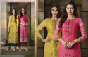 Embroidered Kurti with Pants