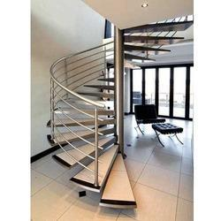 Staircase SS Spiral Railing