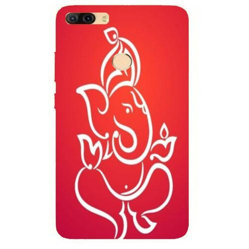 the best attitude ce51d 99ab7 Ganesha Micromax Silicon Mobile Back Cover