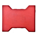 60 mm Red Interlocking Concrete Tile