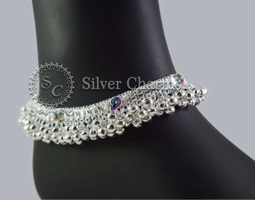 anklets anklet products photo tribal silberuh grande pm silver