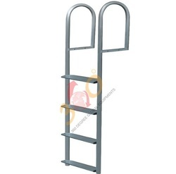 Aluminum Wide Step Hook Ladder