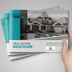 Real Estate Brochure Offset Printing Service