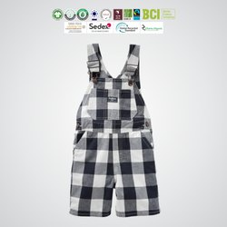 GOTS organic cotton Kids jumpsuits Manufacturer