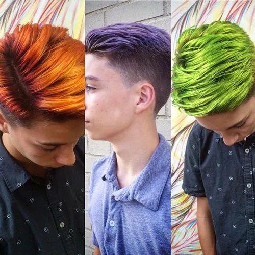 Men Hair Highlights