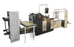 Fully Automatic Square Bottom Paper Bag Making Machine