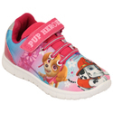 Casual Wear Pink Kids Printed Shoes