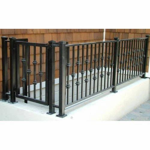 MS Balcony Railings, Mild Steel Balcony Railing, एमएस ...