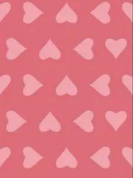 Rayon Heart Print Fabric