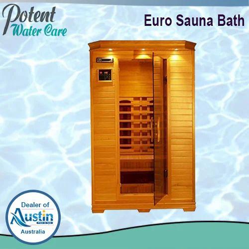 wooden brown euro sauna bath, rs 235000 /unit, mega fitness