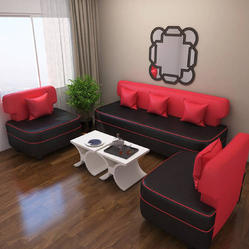 5 Seater Leatherette Sofa, Warranty: 1 Year