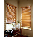 Country Oak Wooden Blind