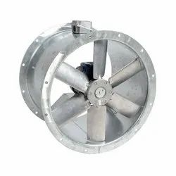 Electric Stainless Steel Axial Flow Fan, Impeller Size: 4-6 inch, for Industrial
