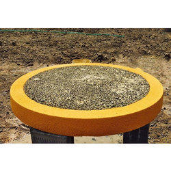 Round Reinforced Cement Polymer Precast Concrete Cover