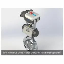 BFV Actu POS Cone Flange Actuator Positioner Operated