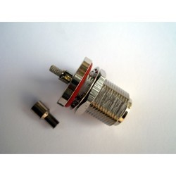 N B/H Female Connector for RG 316