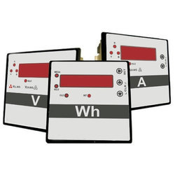 Secure Panel Meter, Dimension: 48x96mm, Panel Cutout 44x92mm, Model Name/Number: Flair