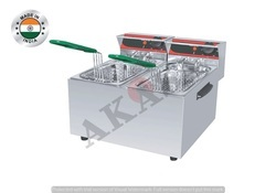 Akasa Indian Electric Double Deep Fat Fryer 5ltr plus 5ltr