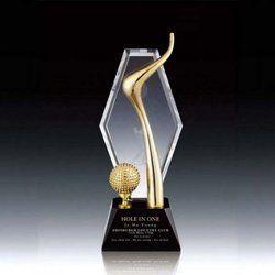 7 Inch Crystal Trophy