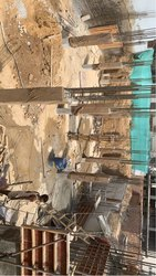 Concrete Frame Structures Marble Hotel Construction Service