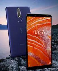 Nokia Grey 3 Point 1 Plus Mobile Phone