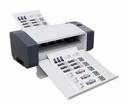 Automatic Sticker Half Cutting Machine