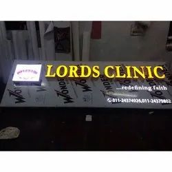 Clinic LED Channel Letters