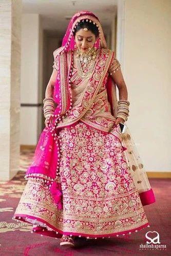 b5139b639f Brocade Stitched Beautiful Lehenga, Rs 650000 /piece, Lady Selection ...