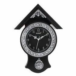Plastic Designer Pendulum Wall Clock