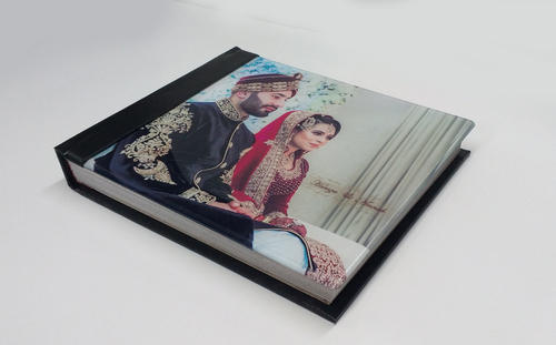 Photo Book And Coffee Table Book Professional Flush Mount