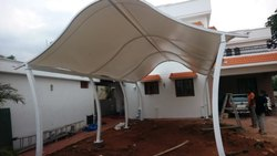 Cafe Roof Tensile Structure