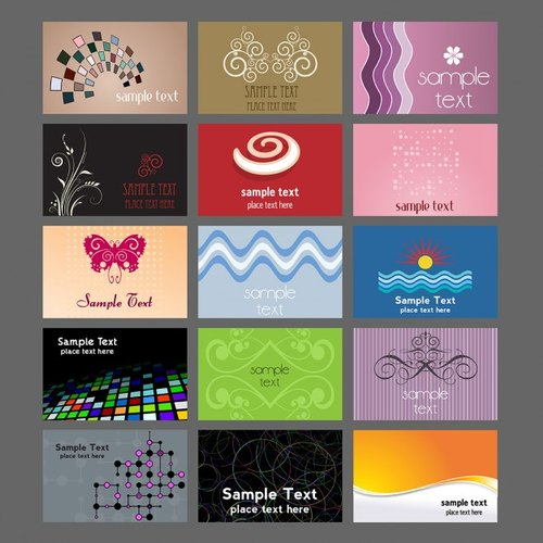Modern Design Business Cards
