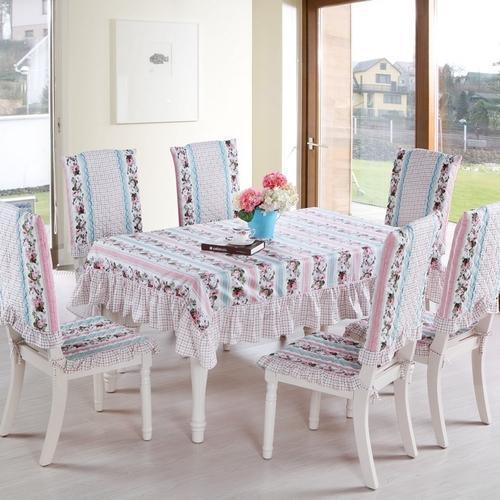 Cotton Dining Table Cover Set & Dining Table Cover Set