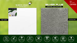 White Feet Thermal Tiles