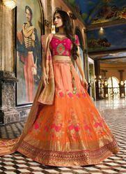 Celebrity Style Designer Reception Wear Lehenga Choli