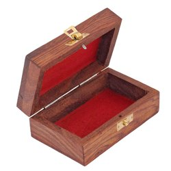 Rectangle Wooden Jewellery Box