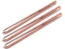 Copper Bonded Earth Rods Un-Threaded Pointed