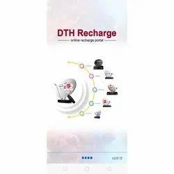 Mobile & Website Portal Retailer DTH Recharge, in Client Side