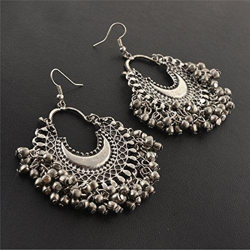 99828d9a3 Oxidised Afghani Tribal Fancy Party Wear Earrings For Girls And Women