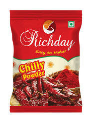Richday Chilli Powder, Packaging: Packet
